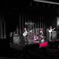 Heavy Mellow Rocking the Heavy Metal Classics Flamenco-style at the Hard Rock Café in Hollywood 11/1/2012