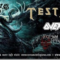 TESTAMENT & OVERKILL - DARK ROOTS OF THRASH TOUR / HOUSE OF BLUES ANAHEIM 1/31/2013