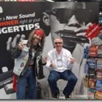 DANIEL AND HAZ7MAX at NAMM 1/24/2013