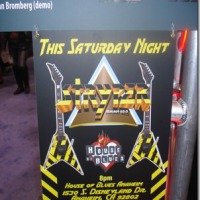 STRYPER HOUSE OF BLUES ANAHEIM 1/26/2013 DURING NAMM