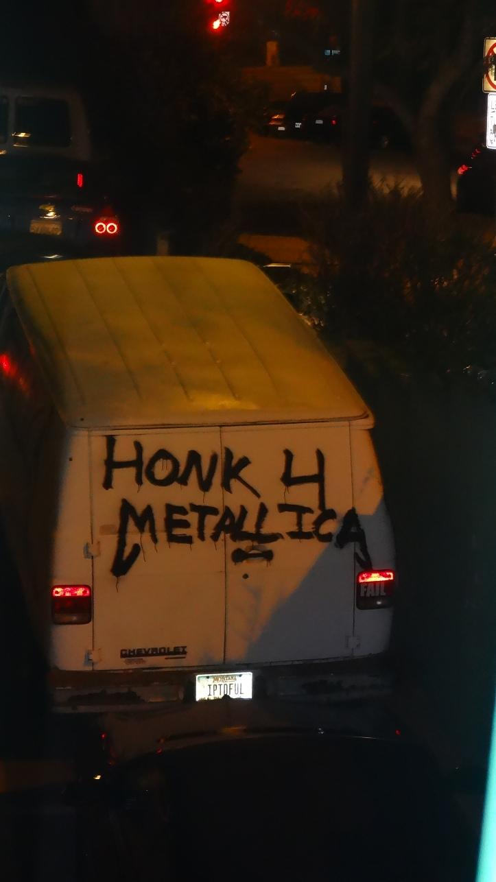 Honk 4 Metallica