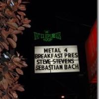 STEVE STEVENS , BILLY IDOL , SEBASTIAN BACH, MATT SORUM, BILLY MORRISON, FRANKY PEREZ at THE VIPER ROOM 4/5/2013