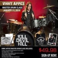 GoDpsMusic to Host Vinny Appice Drummonster Clinic