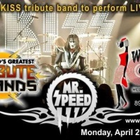 MR. SPEED to pay tribute to KISS on AXS TV's The World's Greatest Tribute Bands on April 21