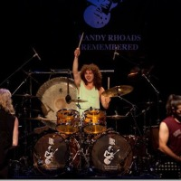 ANDRE JEVNIK – winner of Randy Rhoads Remembered Drum Contest – performing No Bone Movies with RUDY SARZO, BRIAN TICHY and CHAS WEST