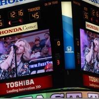FAST TIMES THE HONDA CENTER LA KISS FOOTBALL 6/14/2014