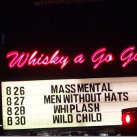 Mass Mental WHISKY-A-GO-GO 8/26/2014