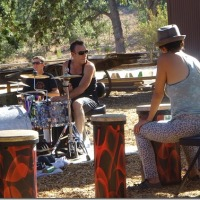 """Rock Against MS """"BEAT MS"""" DRUM CIRCLE HOSTED BY STEPHEN PERKINS Paramount Ranch Agoura Hills, CA 8/10/2014"""