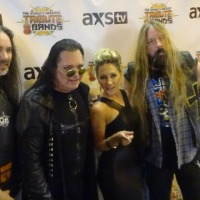 KATIE DARYL CELEBRATES HALLOWEEN IN HOLLYWOOD HEAVY METAL STYLE at AXS TV'S THE WORLD'S GREATEST TRIBUTE BANDS OZZMANIA – BLACK SABBATH and OZZY OSBOURNE TRIBUTE 10/28/2014 THE WHISKY