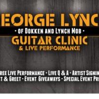 GEORGE LYNCH ESP GUITAR CLINIC GO DPS MUSIC FRIDAY 3/27/2015