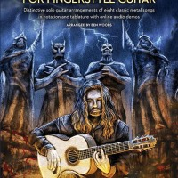 "Heavy Metal Flamenco Guitar Pioneer BEN WOODS Releases Guitar Instruction Book ""METAL CLASSICS For FINGERSTYLE GUITAR"""