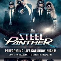 STEEL PANTHER at THE HONDA CENTER FOR THE LA KISS Game 7/18/2015