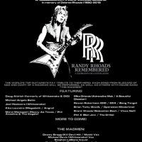 Guitarists for Megadeth, Whitesnake, Bon Jovi, Raiding The Rock Vault announced for Randy Rhoads Remembered 2016