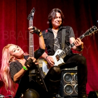 LVICTORIA and JOEY TAFOLLA opening RANDY RHOADS REMEMBERED 1/23/2016
