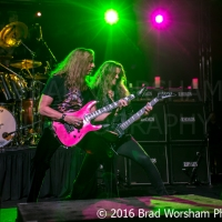 JOEL HOEKSTRA and JEFF WATSON RANDY RHOADS REMEMBERED during NAMM at M3 Live Events Center 1/23/2016