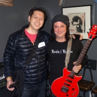 BRENT MUSCAT Interview Discussing K'z Guitars with Tak Ito at Lucky Strike Live