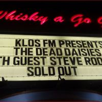 The DEAD DAISIES The Whisky 9/15/2016