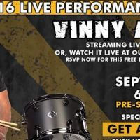 Vinny Appice Drum Clinic Tomorrow and Private Drum Lessons Saturday at GoDPS Music in Ventura County, CA
