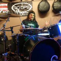 Vinny Appice Interview and Chromacast ddrum Drum Clinic at GoDPS Music 9/23/2016