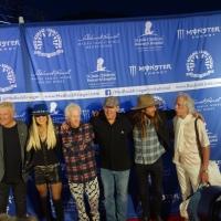 MEDLOCK KRIEGER John Densmore Robby Krieger Alex Lifeson Orianthi Rush Michael Jackson Alice Cooper Lukas Nelson Scotty 2018 Saddlerock Ranch