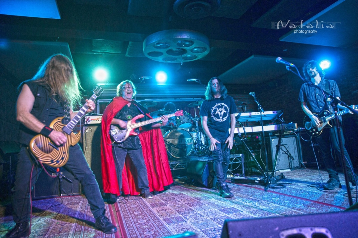 BLACK SABBATH performed by STU HAMM, CARL RESTIVO, STEPHEN PERKINS and ALLSTAR CAST at SOUNDCHECK LIVE Lucky Strike 2/27/2019