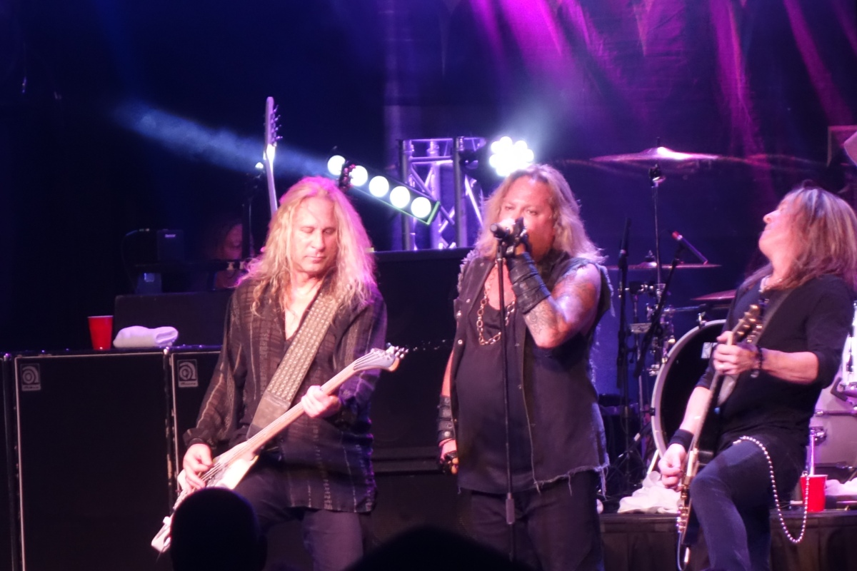 Vince Neil of Motley Crue Canyon Club Agoura 4/6/2019