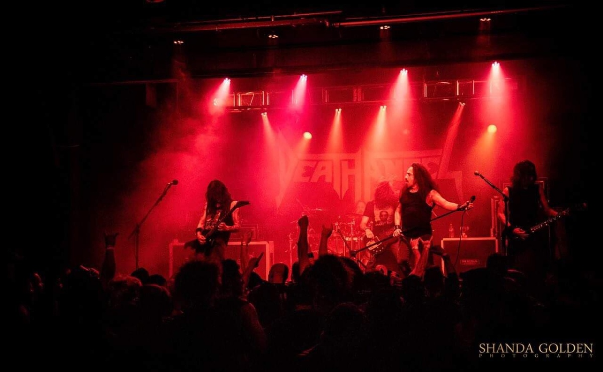 Death Angel at Jub Jub's Thirst Parlor Reno NV 4/19/2019