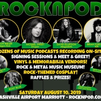 "ROCKNPOD Expo to Feature David Ellefson‬ (‪Megadeth‬), ‪Michael Sweet‬ (‪Stryper‬), Brian ""Damage"" Forsythe (KIX), Jason Bieler (‪Saigon Kick‬), ‪Eerie Von‬ (Danzig), Jack Gibson (Exodus) and more"