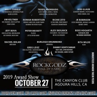 THE 8TH ANNUAL ROCKGODZ HALL OF FAME AWARDS 2018 THE CANYON CLUB, AGOURA HILLS, CA OCTOBER 27TH 2019