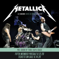 METALLICA will air at drive-in theaters across the United States and Canada on Saturday, August 29 for Encore Drive-In Nights