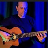 Ben Woods' Spanish Flamenco Guitar BLACK HORSEMEN King Diamond